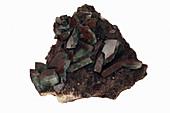 Barite crystals with Hematite