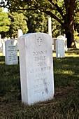 Grave of Donn Eisele,NASA astronaut
