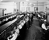 Telephone switchboards,20th century