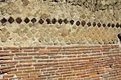 Roman wall,Herculaneum