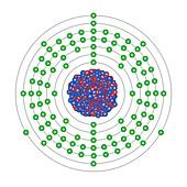 Lawrencium,atomic structure