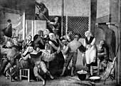 Tavern scene,16th century