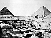 Pyramids of Giza,Egypt,1880s
