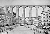 Morlaix viaduct,France,1880s