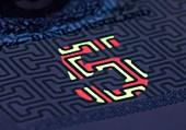 Banknote,UV anti-counterfeit marker