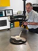 3D measurement machine use