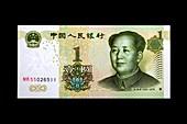 One-yuan banknote,China