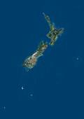 New Zealand,satellite image