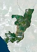 Republic of The Congo,satellite image