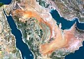 Saudi Arabia,satellite image