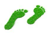 Carbon footprint,conceptual artwork
