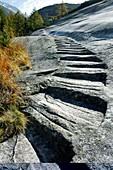 Granite steps,Switzerland