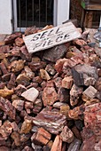 Petrified wood for sale in Arizona