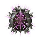 Fusion reactor,conceptual image