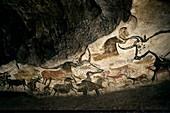 Lascaux II cave painting replica