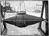 Goubet submarine,1880s