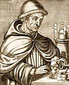 Berthold Schwarz,German alchemist