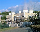 Geothermal power station,Italy