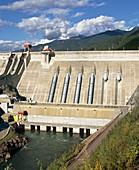 Revelstoke hydroelectric dam