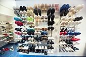 Surgical footwear room