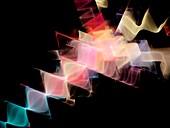Waves,abstract artwork
