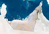 Sharjah,UAE,satellite image
