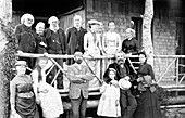 Family and friends of A. G. Bell,1890