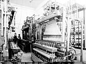 Jacquard loom in Palestine,1939