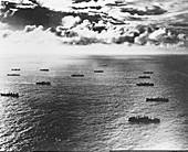 Liberty cargo ship convoy,1940s