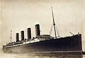 RMS Lusitania,early 20th century
