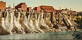 Niagara water mills,early 20th century