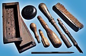 Tool set from the Titanic