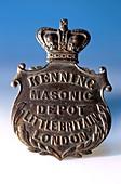 Masonic pendant from the Titanic