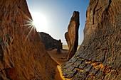 Rock formations,Algerian Sahara