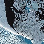 Antarctic Peninsula,satellite image