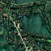 Bangkok flooding 2011,satellite image