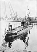 Captured German U-boat,World War I