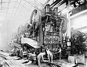 Dodge Brothers automobile factory,1915
