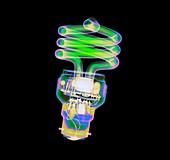 Energy saving light bulb,X-ray