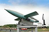 V-1 flying bomb,Peenemunde Museum