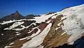 Harrison Glacier,Montana,USA,in 2009