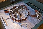 Magnetic tape loop in Baikonur museum