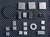 Synthetic diamond film production