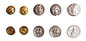 Ancient Greek coins 3rd century BCE