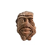 Assyrian Terracotta mask of Humbaba