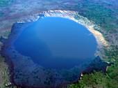 Nordlinger Ries impact crater,artwork