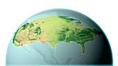 Mainland USA,land cover map
