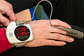 COPD research,pulse oximeter