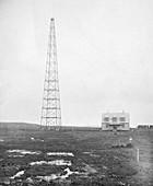 Radio antenna,1916