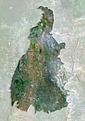 Tocantins,Brazil,satellite image